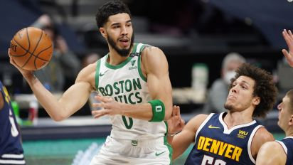Celtics stun Nuggets with 40-8 run to close game
