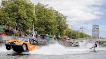 WaterCar: we drive an amphibious vehicle in and around Dublin Port
