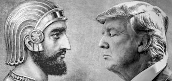 Israel draws comparison of Trump to ancient leader