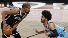 Durant, Irving help Nets hold off Adebayo, Heat 128-124