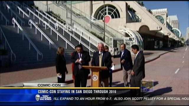 Comic-Con staying in San Diego through 2016