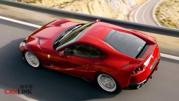 當家旗艦超級快後擋玻璃居然會自己噴飛?!Ferrari啟動812 Superfast召回