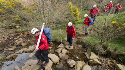 Mobile phones mean mountain rescue is becoming a guidance service for lost walkers