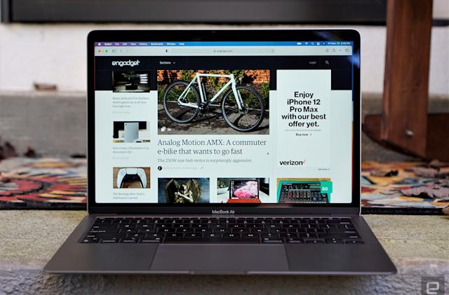 Apple's M1 MacBooks are heavily discounted on Amazon