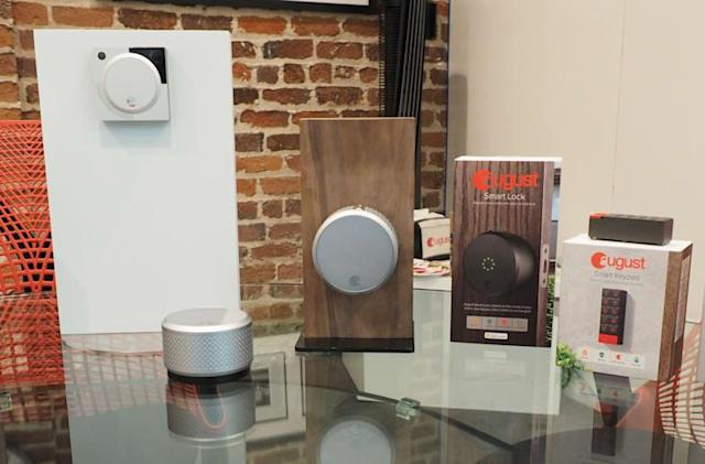 August unveils a Homekit-enabled lock, keypad and doorbell camera