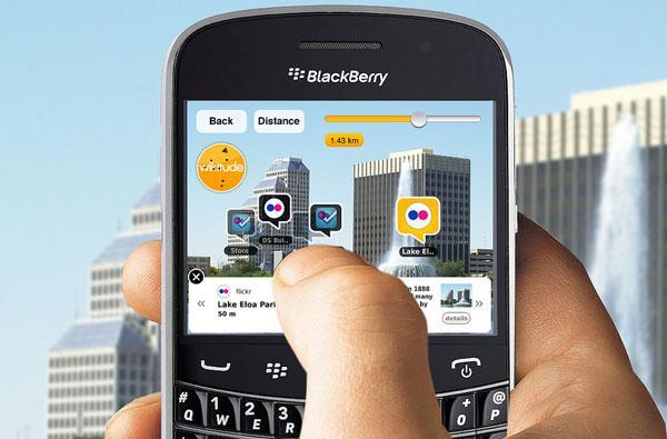 BlackBerry Bold 9900 / 9930 shipping with magnetometer-friendly augmented reality app