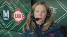 Beth Mowins makes history on a Cubs broadcast look easy on Mother's Day weekend