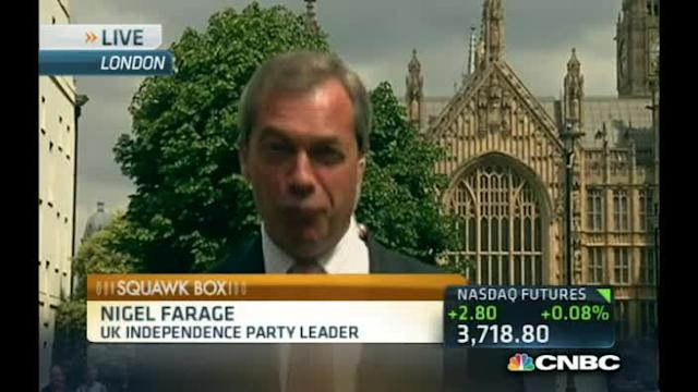 EU's social market model is not working: Farage