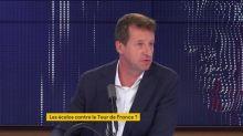 """Propos d'élus EELV sur le Tour de France : """"Je suis fatigué de ces prises de parole"""" et de ce """"mépris de classe"""", soupire Yannick Jadot"""