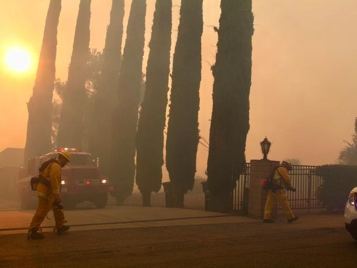 Smoke from California wildfires is not helping air quality.