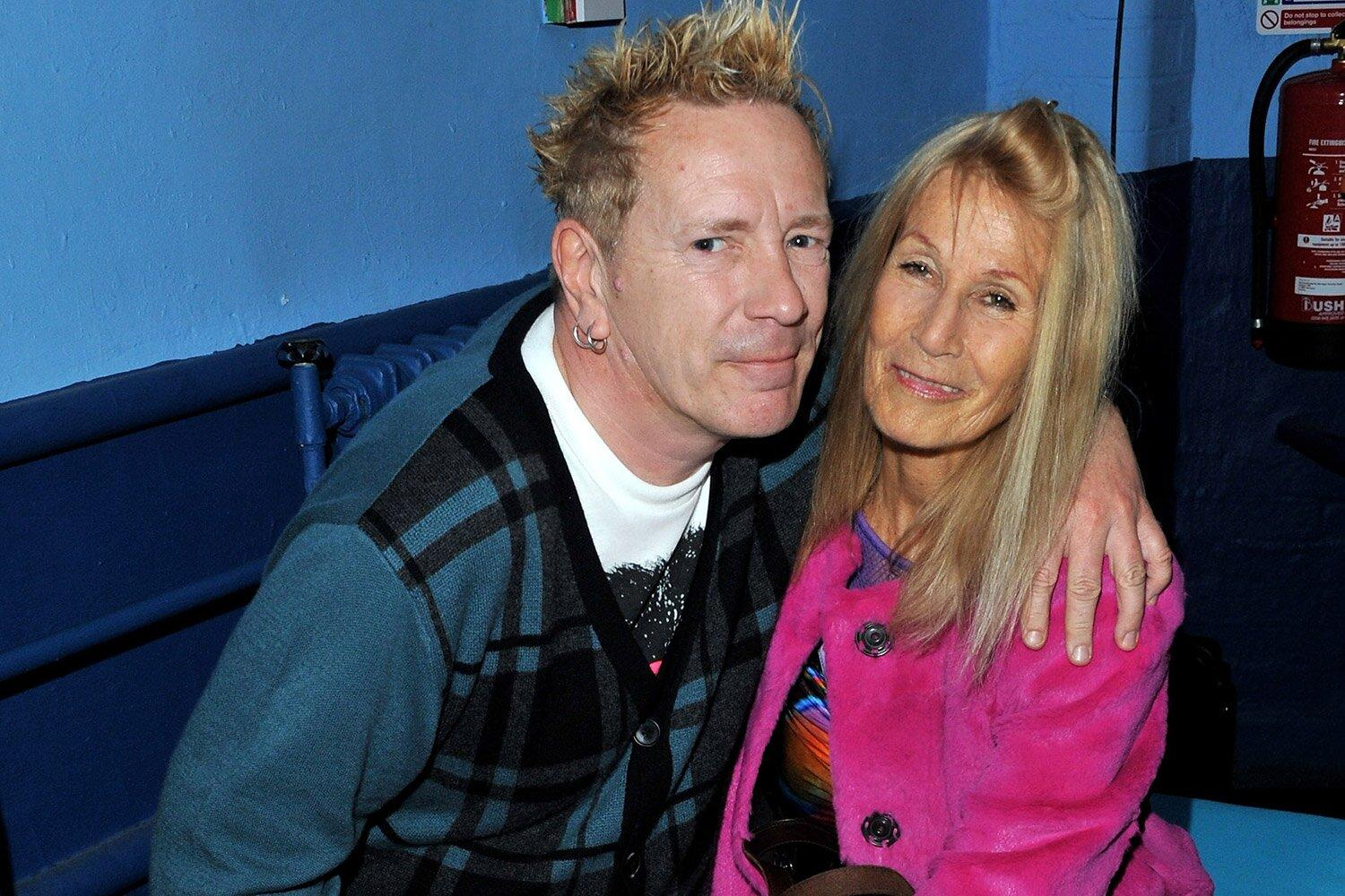 Sex Pistol Johnny Rotten cares for wife Nora full-time
