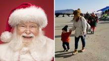 'Flight to North Pole' makes children's dreams come true