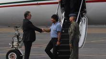 """""""Gracias por todo"""", dice Evo Morales a AMLO y Ebrard"""