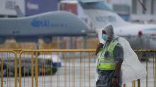 Comienzas saln aeronutico de Singapur con menos expositores y visitantes debido a epidemia