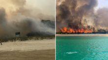 'Threat to all lives': Popular tourist island braces for 'vengeful' bushfire