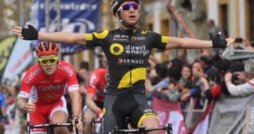 Cyclisme - C. de la Sarthe - Lilian Calmejane remporte le Circuit de la Sarthe, la dernière étape pour Bryan Coquard