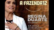 Regina Duarte quer voltar à Globo, mas web sugere 'A Fazenda 12'