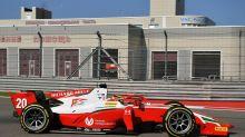Sochi F2: Schumacher passes Tsunoda to claim feature race win