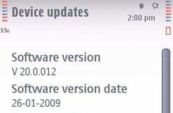 Nokia's 5800 XpressMusic gets its first firmware update: aww!