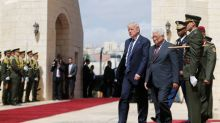 Trump travels to Bethlehem for talks with Palestinian president