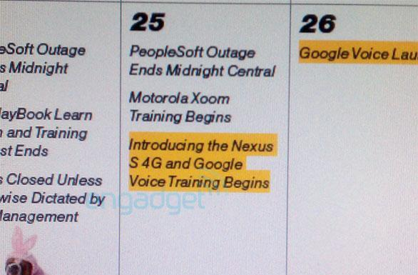 Motorola Xoom, Nexus S 4G hitting Sprint in early May?
