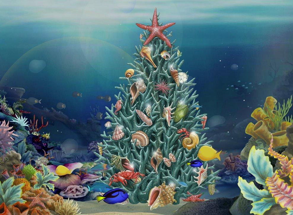 Jacquie Lawson\'s New Seaside Advent Calendar Released for Christmas 2016