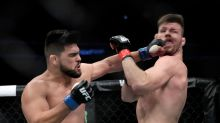 Watch: Michael Bisping gets KO'd by savage left hand at UFC Shanghai