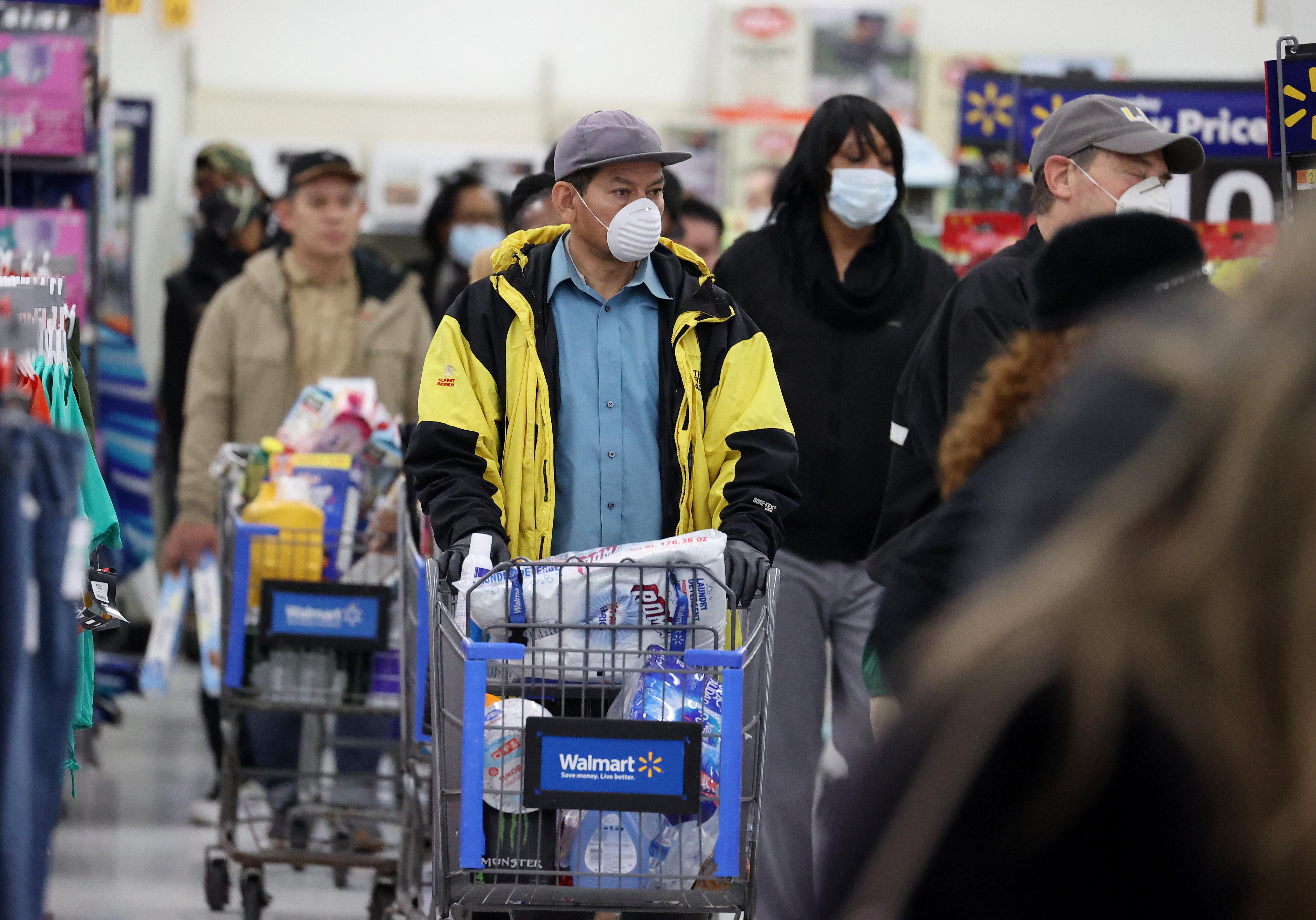 Walmart has been selling a lot of adult bicycles and sewing machines during the coronavirus pandemic