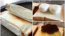 日本網民創作料理 多士夾雪米滋超好味