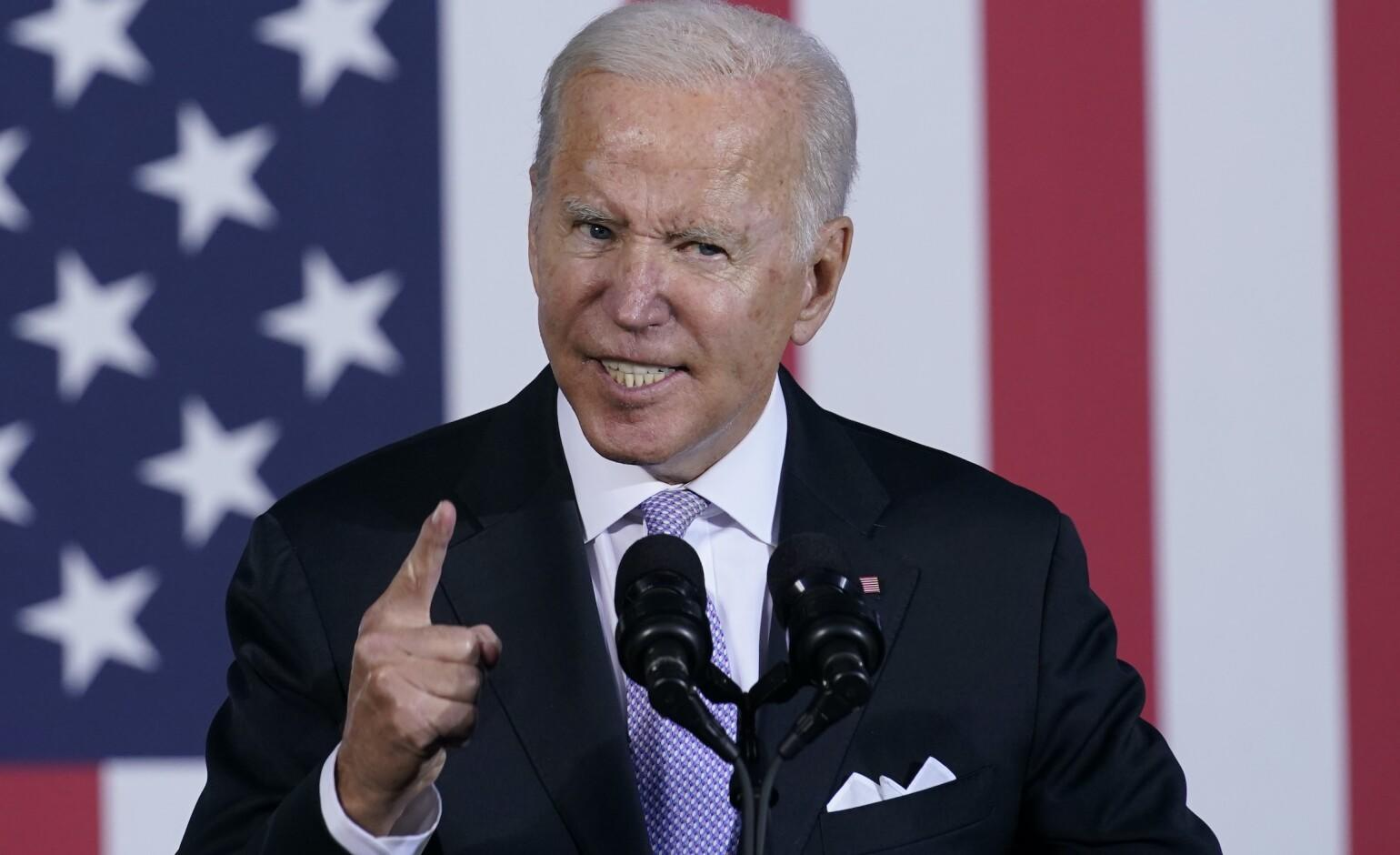 Biden serves up word salad, appearing to say he rode Amtrak as vice president for 36 years