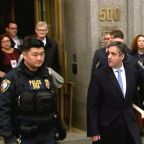 Michael Cohen sentenced to 3 years in prison