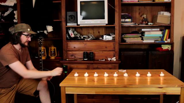 9 candles extinguished with a single punch
