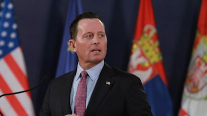 Trump names Grenell as acting head of intelligence