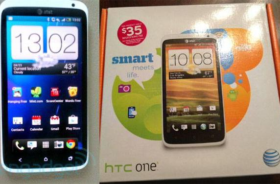 HTC One X sold early at AT&T, spotted in the wild