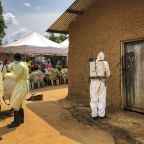 The Latest: US, EU promise support to tackle Ebola