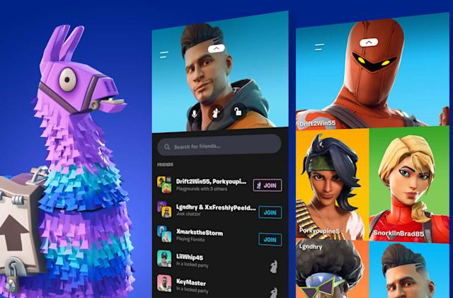 Fortnite's new 'Party Hub' feature gives mobile players a voice