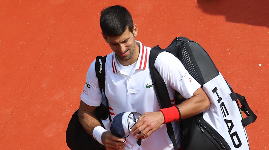 Djokovic suffers first loss of year
