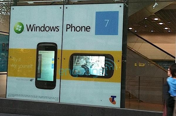 HTC Mozart and mystery LG Windows Phone 7 device appear in Telstra storefront, coming '21-10-10'
