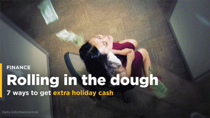 7 ways to make extra holiday cash