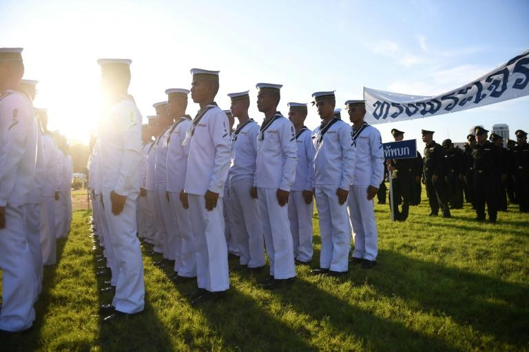 The first ASEAN-US Maritime Exercise will last for five days (AFP Photo/Lillian SUWANRUMPHA)
