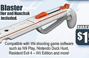 GameStop: Wii Blaster due on June 27