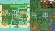 《動物森友會》玩家花四日時間 重現《薩爾達傳說》地圖