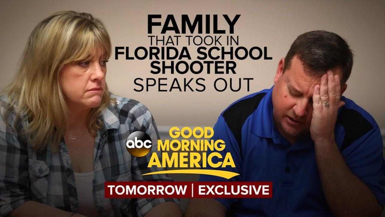 Good Morning America Dave Roe : Family that took in florida shooting suspect to appear on
