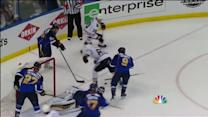 Miller stops Hossa twice in tight
