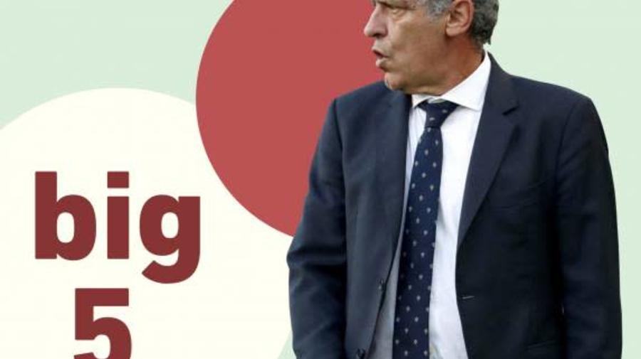 Foot - Podcast - Big five, le podcast foot européen de L'Équipe: le Portugal cherche un second souffle