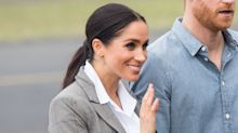 Meghan Markle Breaks Out the Royal Ponytail Again