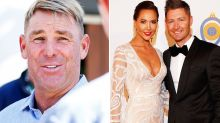 Shane Warne in public display of support for Kyly Clarke