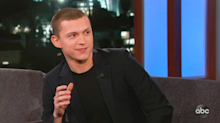 Tom Holland was drunk when he convinced Bob Iger to save Spider-Man