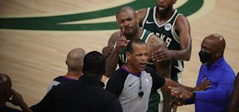 KD's bodyguard allegedly charged court, shoved P.J. Tucker