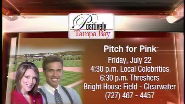 Positively Tampa Bay: Breast Cancer Charity Baseball Game